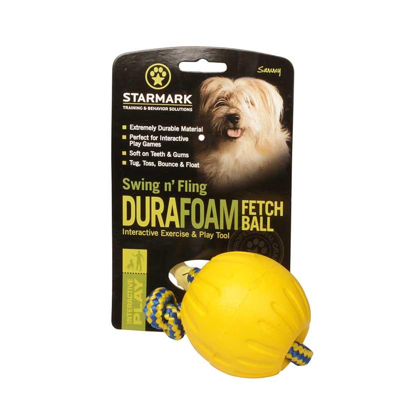 Balle en mousse pour chien «Swing 'n Fling DuraFoam Fetch